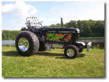 Black Viper Racing Tractor Puller
