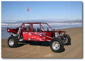 Friends of Oceano Dunes Giveaway Car